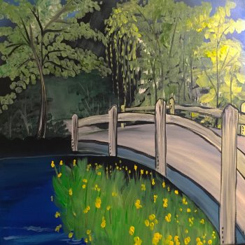 Paint Your Masterpiece on 05/19 at Muse Paintbar Ridge Hill