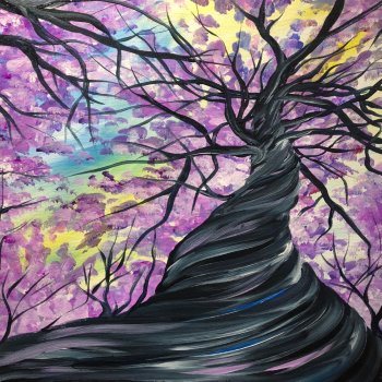 Canvas Painting Class on 04/28 at Muse Paintbar Milford
