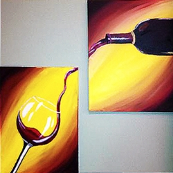 Couple's Paint Night on 04/12 at Muse Paintbar Woodbridge