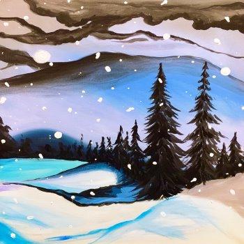 Winter Storm - Muse Paintbar