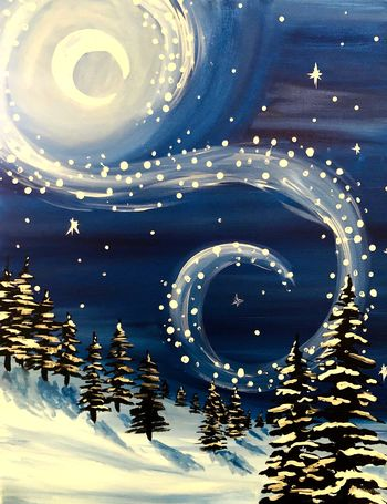 Canvas Painting Class on 01/10 at Muse Paintbar Gainesville