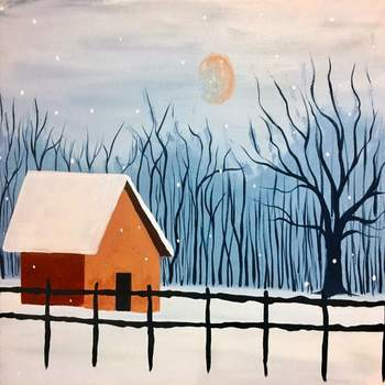 Canvas Painting Class on 01/12 at Muse Paintbar Garden City