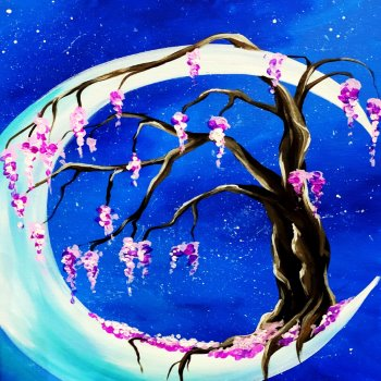 Canvas Painting Class on 04/06 at Muse Paintbar Virginia Beach