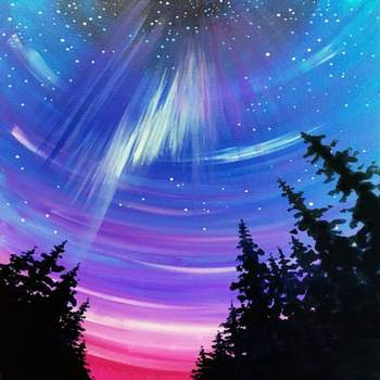LED Canvas Painting on 02/18 at Muse Paintbar Lynnfield