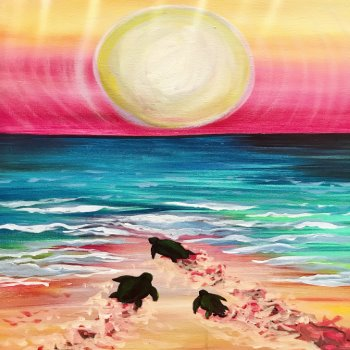 Canvas Painting Class on 06/23 at Muse Paintbar Gaithersburg