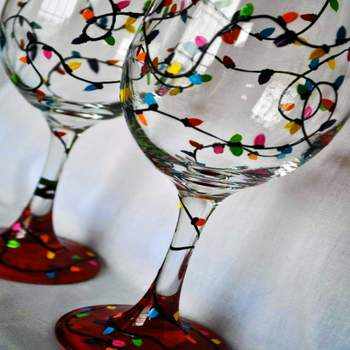 Glassware Painting Event on 12/14 at Muse Paintbar Garden City