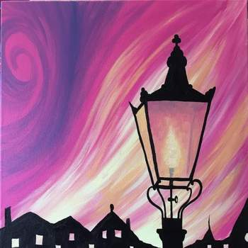 Canvas Painting Class on 11/22 at Muse Paintbar Garden City