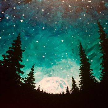 LED Canvas Painting on 02/09 at Muse Paintbar Gaithersburg