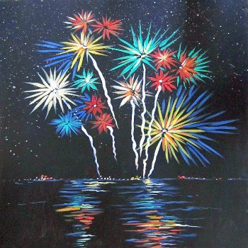 Fireworks! - Muse Paintbar