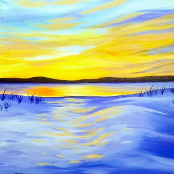 Canvas Painting Class on 02/25 at Muse Paintbar Gaithersburg