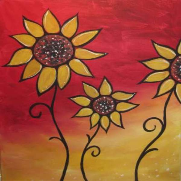 Kids Painting Class on 09/26 at Muse Paintbar Ridge Hill