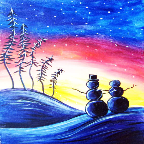 Canvas Painting Class on 11/28 at Muse Paintbar Annapolis