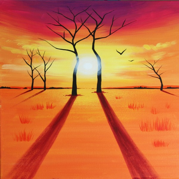 Canvas Painting Class on 09/24 at Muse Paintbar Woodbridge