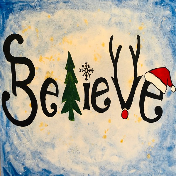Special Paint & Sip Event on 12/15 at Muse Paintbar Gaithersburg