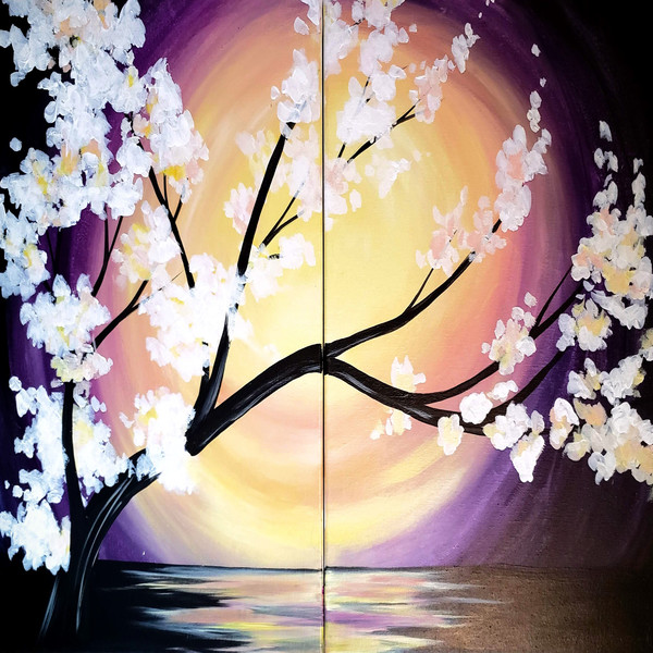 Couple's Paint Night on 04/24 at Muse Paintbar Charlottesville