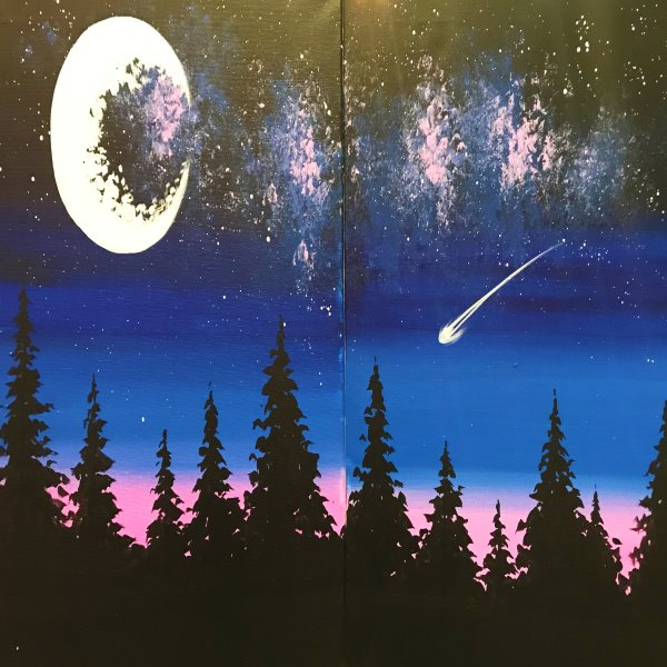 Couple's Paint Night on 12/15 at Muse Paintbar NYC - Tribeca