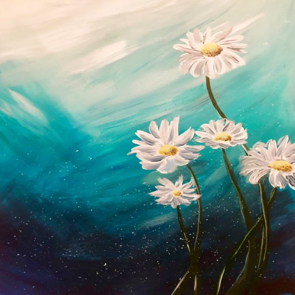 Canvas Painting Class on 03/24 at Muse Paintbar Ridge Hill