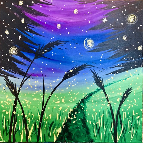 Canvas Painting Class on 11/15 at Muse Paintbar Lynnfield