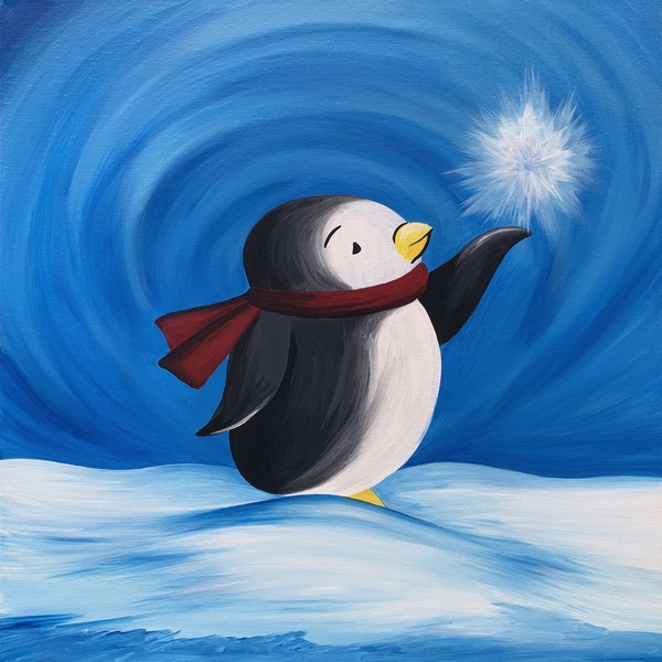 Kids Painting Class on 01/20 at Muse Paintbar Milford
