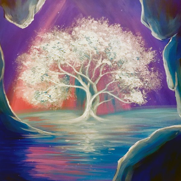 Canvas Painting Class on 07/09 at Muse Paintbar Lynnfield