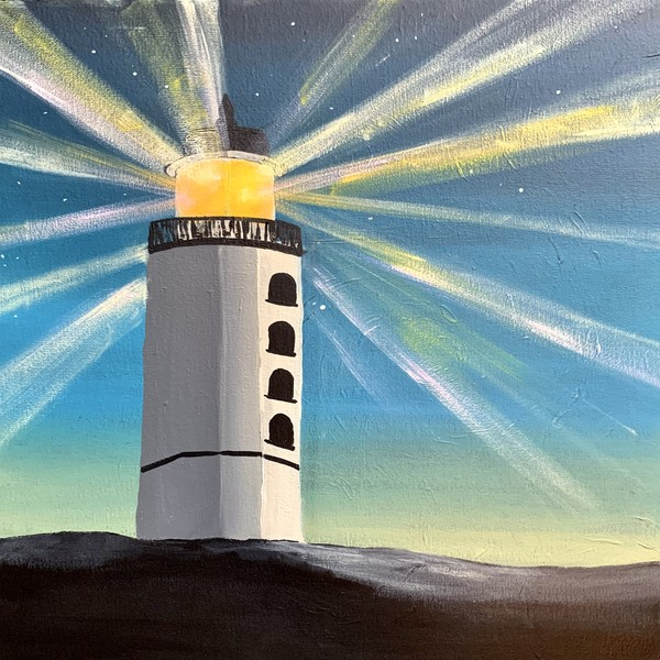 Canvas Painting Class on 08/16 at Muse Paintbar Virginia Beach