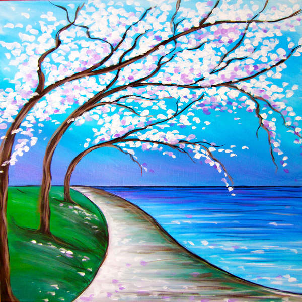 Canvas Painting Class on 06/26 at Muse Paintbar Virginia Beach