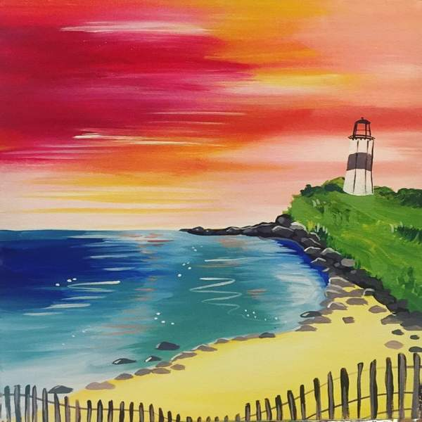 Canvas Painting Class on 05/09 at Muse Paintbar Woodbridge