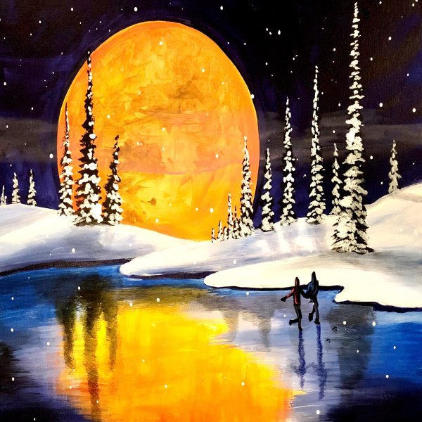 Paint Your Masterpiece on 02/23 at Muse Paintbar King of Prussia