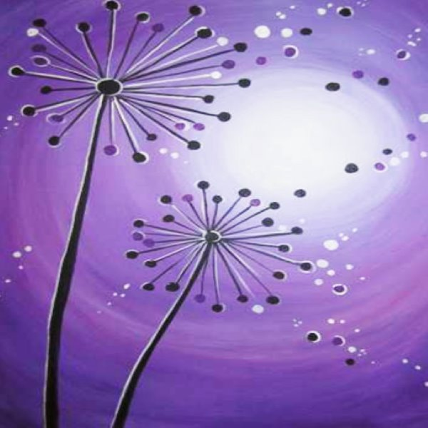 Canvas Painting Class on 07/27 at Muse Paintbar Milford