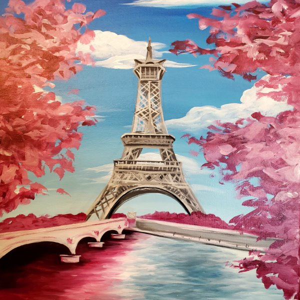 Paint Your Masterpiece on 08/30 at Muse Paintbar Providence