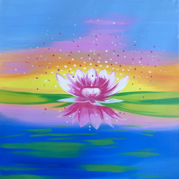 Canvas Painting Class on 04/11 at Muse Paintbar Owings Mills