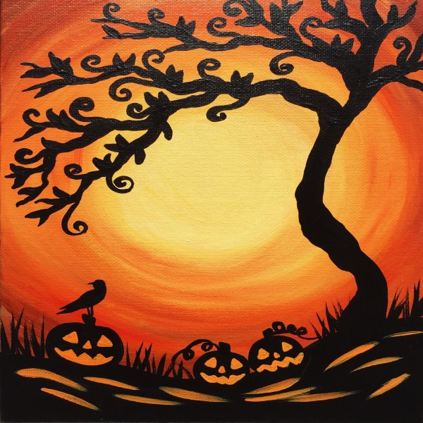 Kids Painting Class on 10/20 at Muse Paintbar Portland