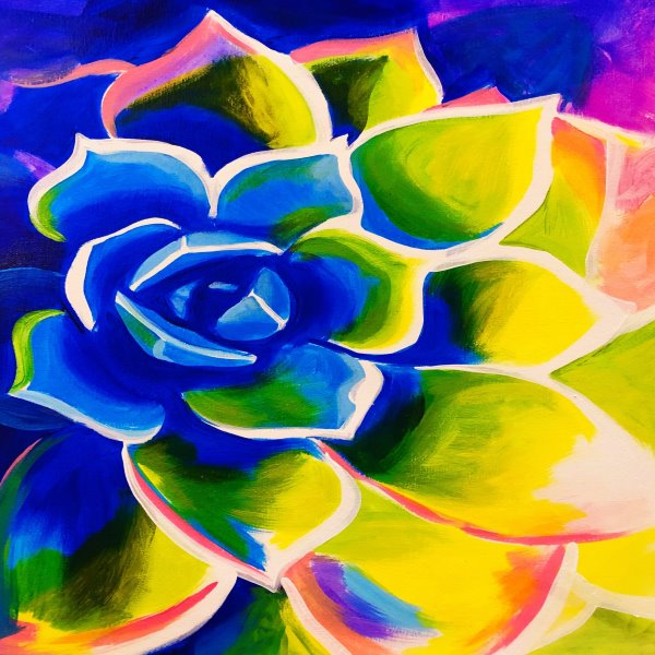 Paint Your Masterpiece on 04/20 at Muse Paintbar White Plains