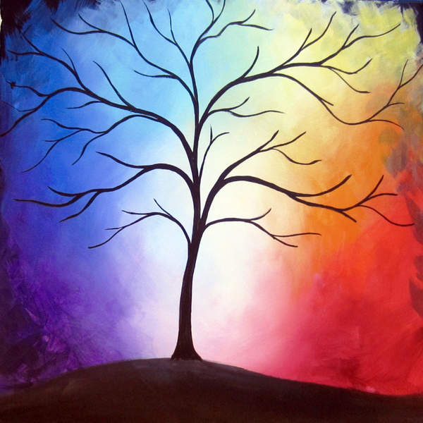 Canvas Painting Class on 03/28 at Muse Paintbar Lynnfield