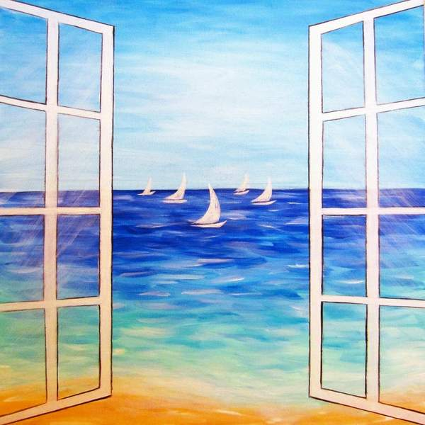 Canvas Painting Class on 06/27 at Muse Paintbar Gaithersburg