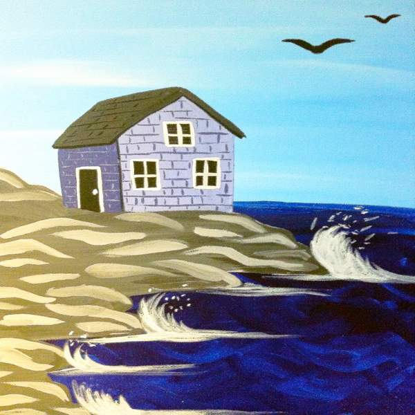 Canvas Painting Class on 06/21 at Muse Paintbar Virginia Beach