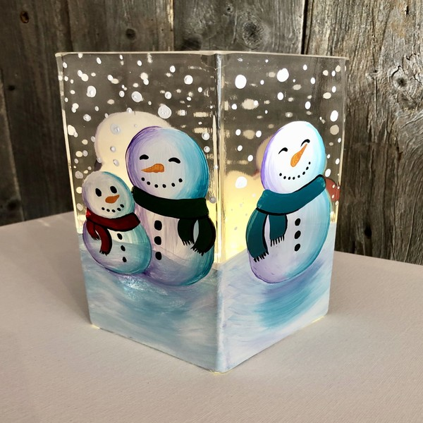 Glassware Painting Event on 12/19 at Muse Paintbar Garden City