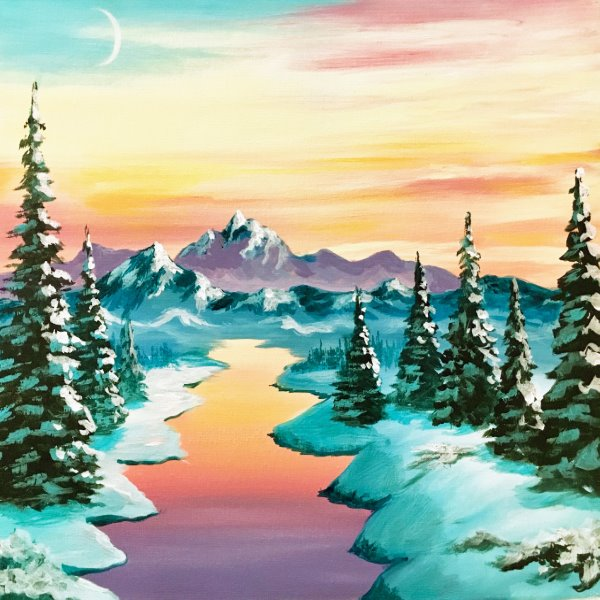 Paint Your Masterpiece on 01/19 at Muse Paintbar Hingham Shipyard