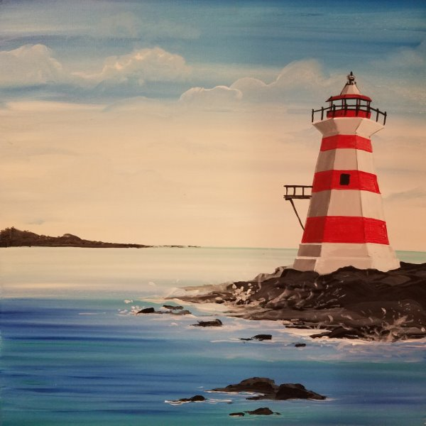 Canvas Painting Class on 03/28 at Muse Paintbar Great Neck