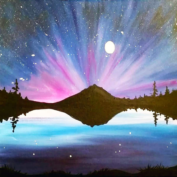 Canvas Painting Class on 01/31 at Muse Paintbar Portland