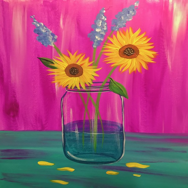 Glassware Painting Event on 07/30 at Muse Paintbar Garden City