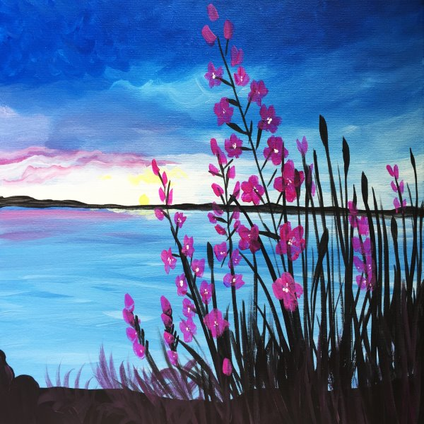 Canvas Painting Class on 06/08 at Muse Paintbar Ridge Hill