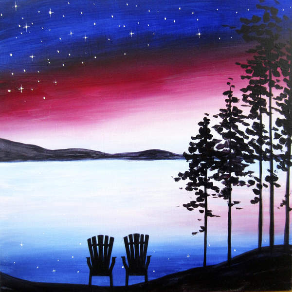Canvas Painting Class on 04/05 at Muse Paintbar Patriot Place