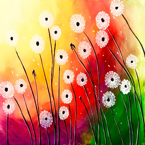 Canvas Painting Class on 04/27 at Muse Paintbar Port Jefferson