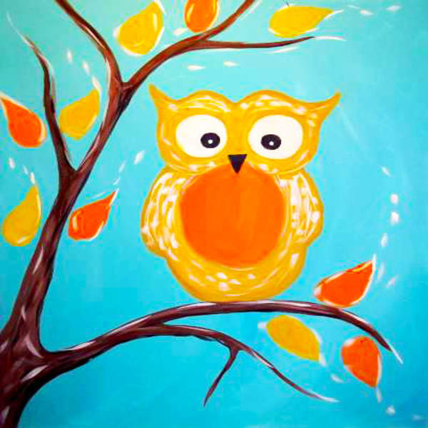 Kids Painting Class on 11/30 at Muse Paintbar Patriot Place