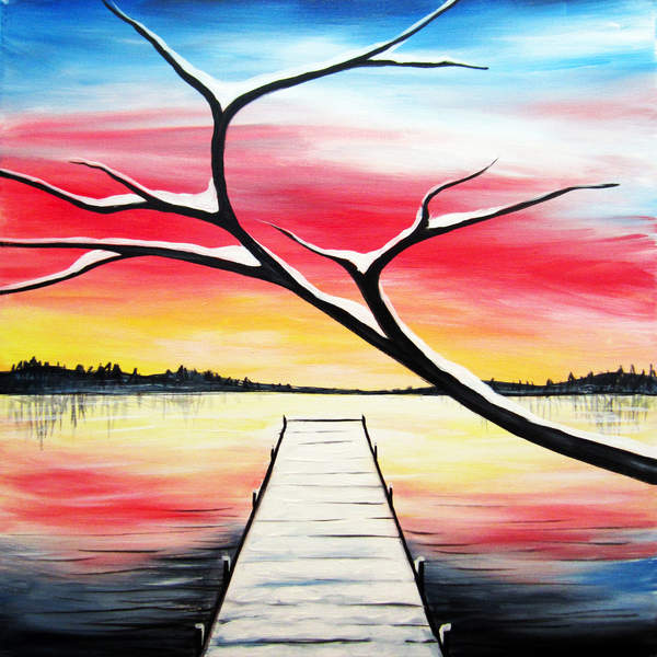 Special Paint & Sip Event on 12/19 at Muse Paintbar Lynnfield