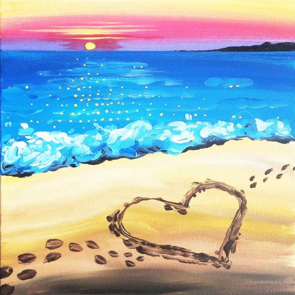 Canvas Painting Class on 08/23 at Muse Paintbar National Harbor