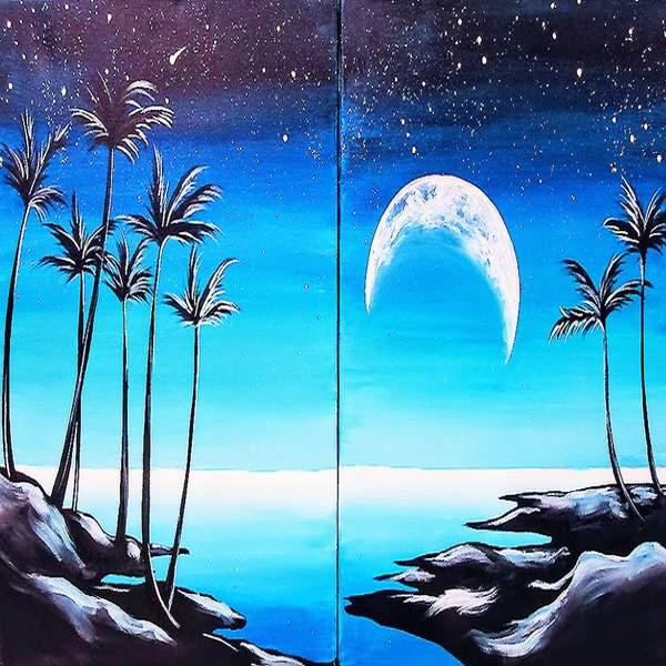 Couple's Paint Night on 08/28 at Muse Paintbar Manchester