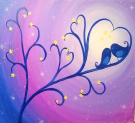 Kids Painting Class on 02/17 at Muse Paintbar Gaithersburg