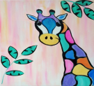 Kids Painting Class on 03/14 at Muse Paintbar Gaithersburg